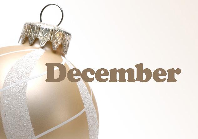 My December Goals
