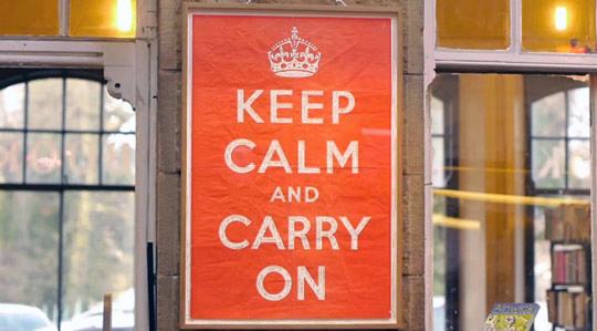 Share: The story of Keep Calm and Carry On
