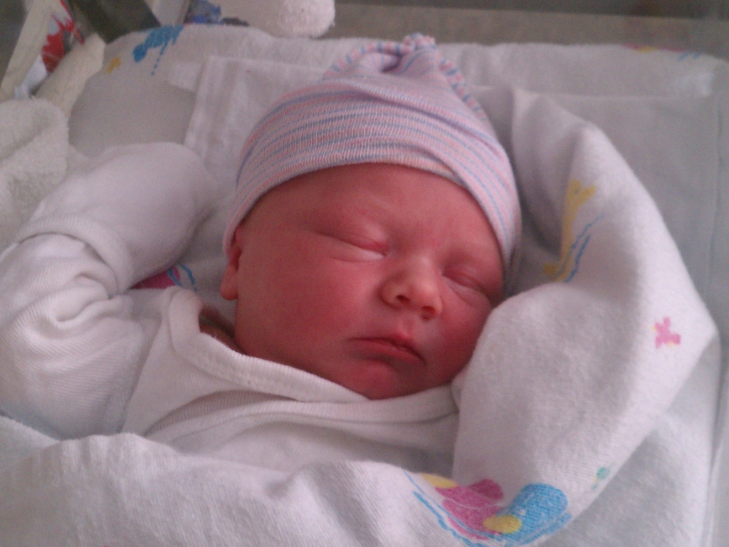 My new nephew, Peter.