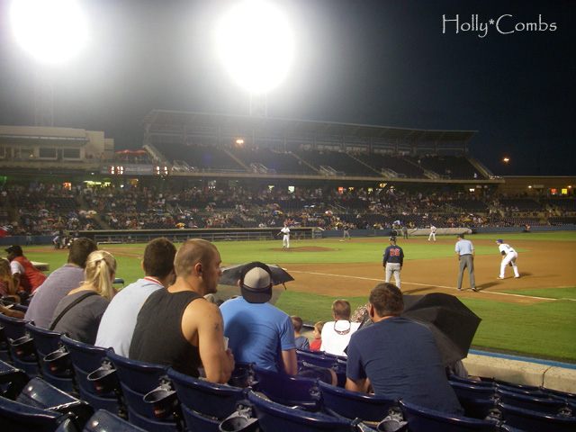 Norfolk Tides minor league baseball game.