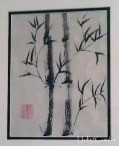 Sumi-e painting