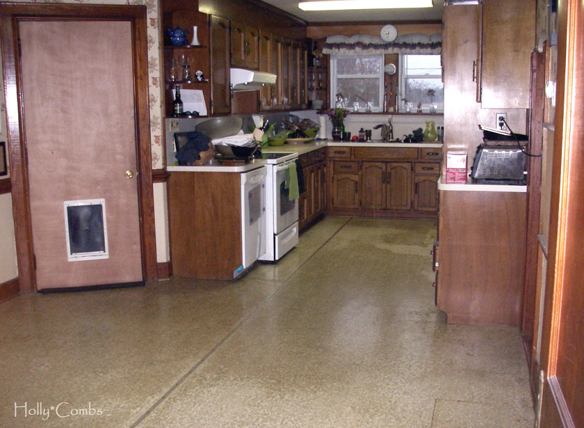 Our kitchen before renovations