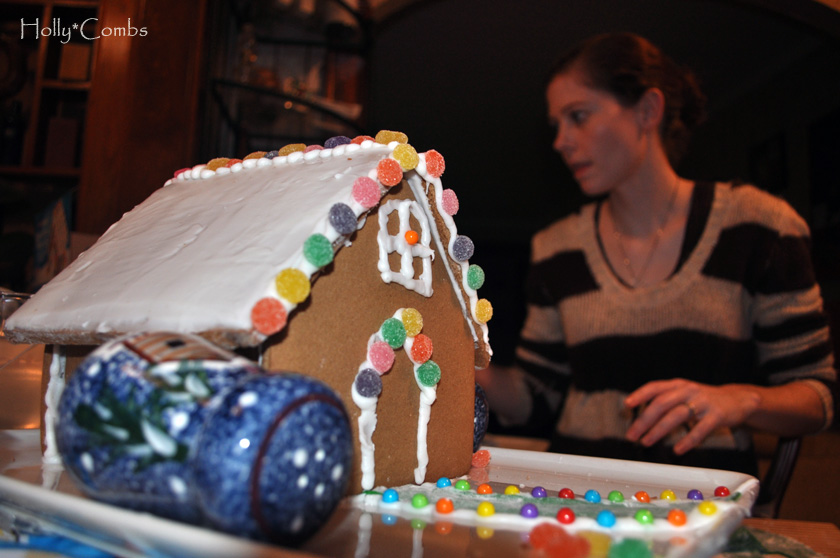 Gingerbread houses, take 4