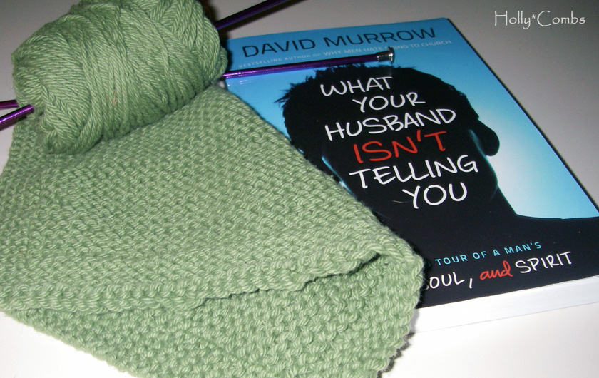 Yarn Along - Reading What Your Husband Isn't Telling You