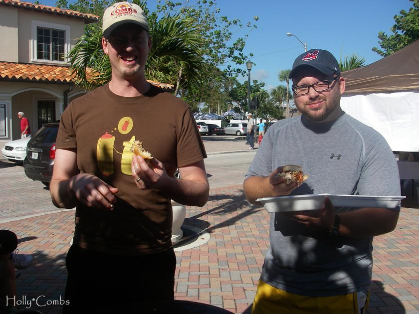 Sharing BBQ