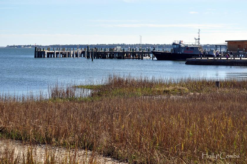 Harbor in Charleston.