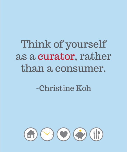 Curator or Consumer?