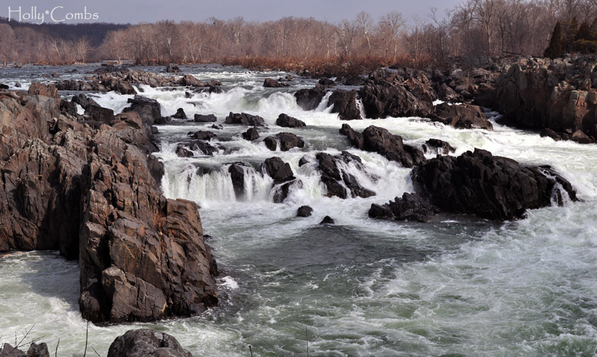 Great Falls on the Potomac River.