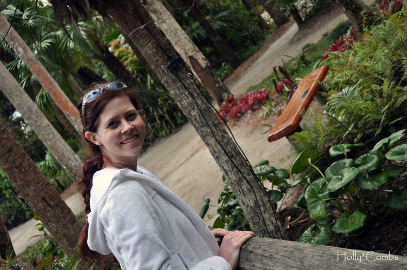 Visiting botanical gardens in Vero Beach