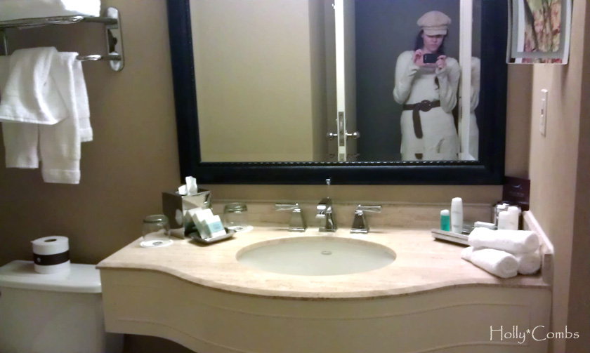 Loved the bathroom at the Omni!