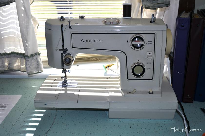 Thrift store sewing machine.