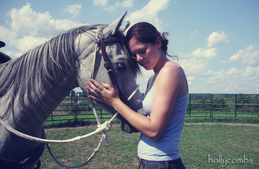 What horses have taught me: Gentleness