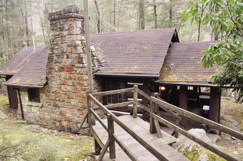 Cabin in West Virginia