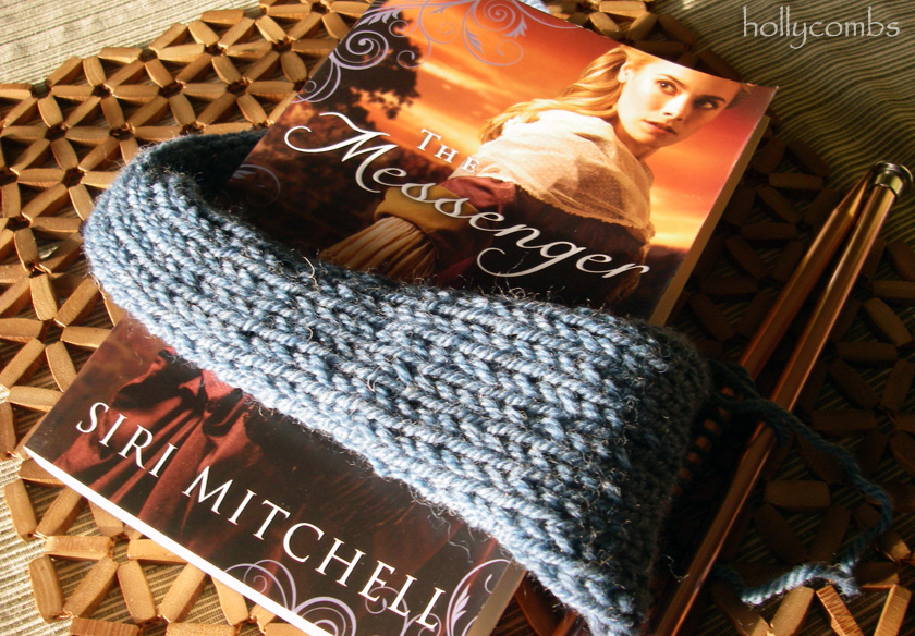 Yarn Along with Siri Mitchell's The Messenger