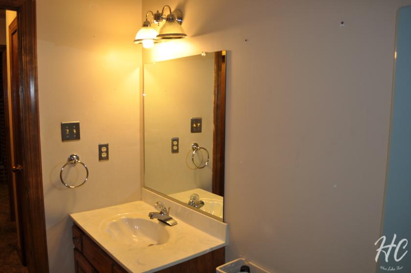 Hall Bath - before