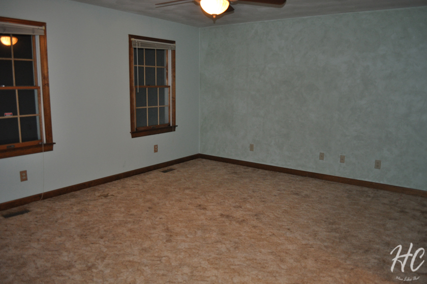 Master bedroom - before