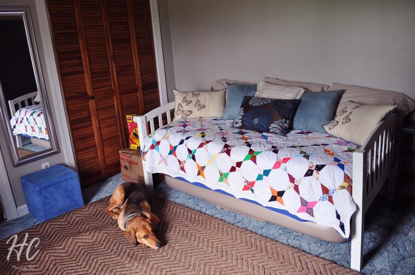 Six Month Progress: Guest Room