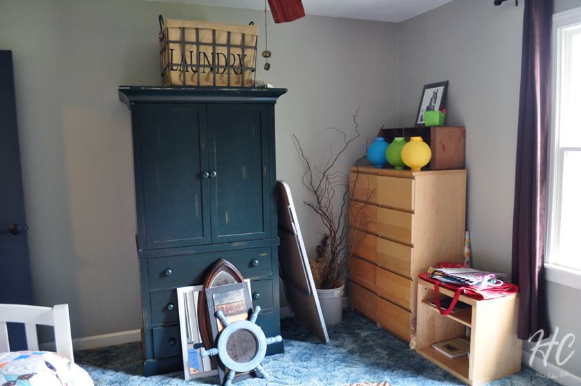 Guest room at six months
