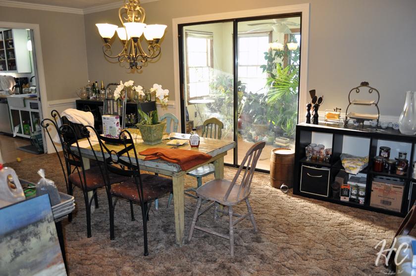 Six Month Progress: Dining Room