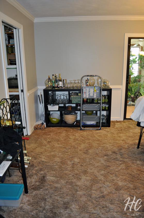 Dining room, 6 month progress