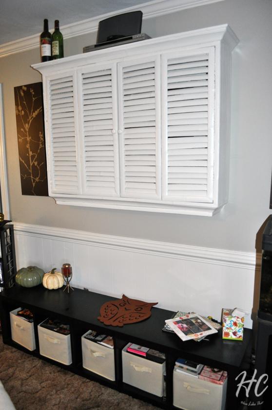 Living room, 6 month progress