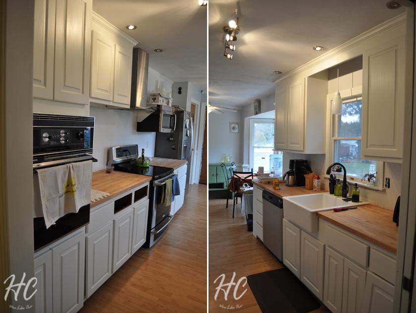 6 months kitchen