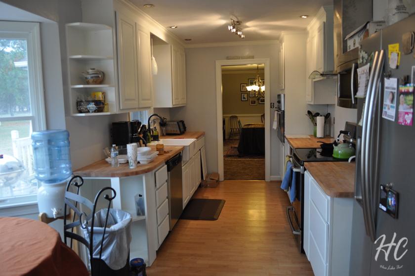 Six Month Progress: Kitchen/Pantry