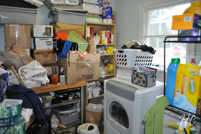 Laundry pantry - 6 months