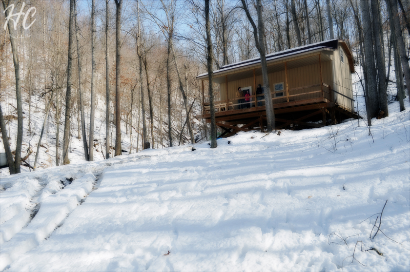 Adventure: A Kentucky Cabin