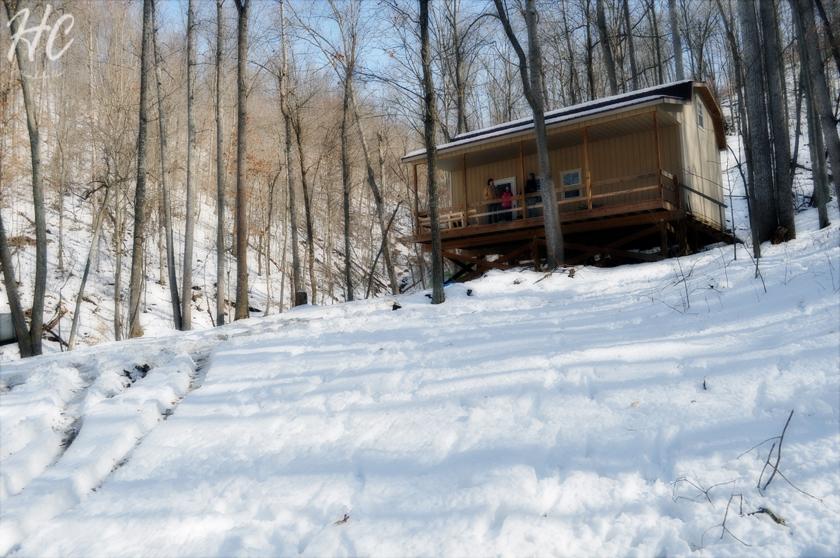 Adventure: A Kentucky Cabin