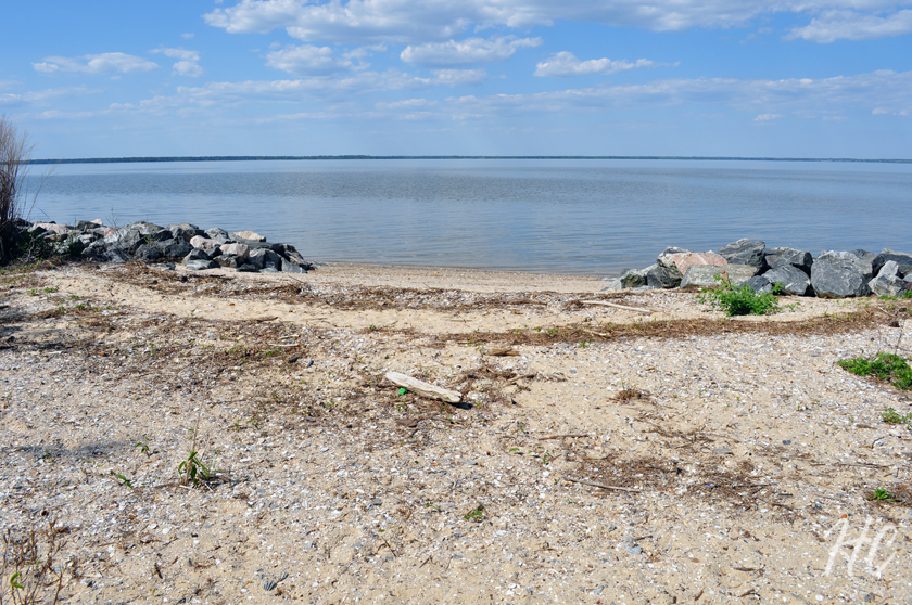James River beach