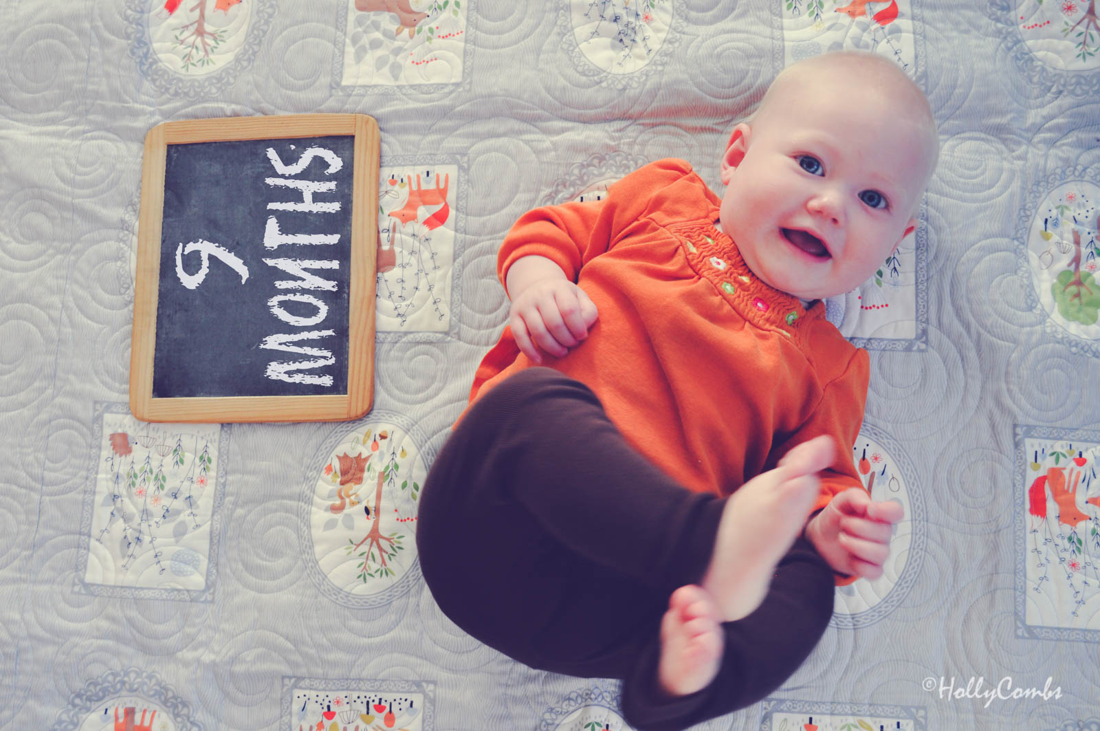 Fiona Rose Marie, nine months